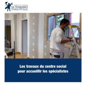 Santé : Les travaux se poursuivent au centre social