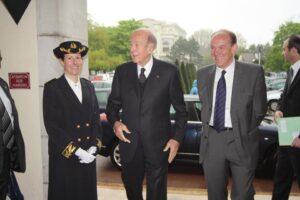 La dernière fois que Le Touquet a accueilli Valery Giscard d'Estaing...