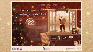 Revivez, avec cette vidéo,  le lancement des illuminations du Touquet-Paris-Plag