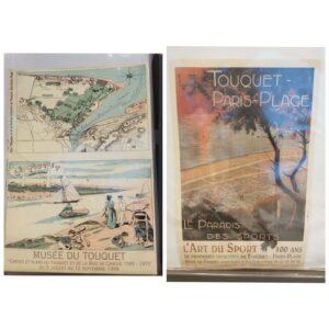 Telethon De belles affiches du Touquet sont en vente à la boutique éphémère (hal