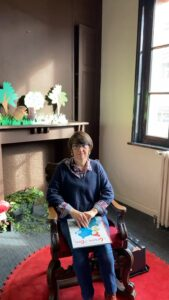 Lecture avec Isabelle à la bibliothèque médiathèque du Touquet