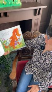 Atelier lecture avec Isabelle de la bibliothèque médiathèque du Touquet