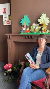 Lecture avec Isabelle de la bibliothèque médiathèque du Touquet