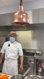 Atelier cuisine avec le Chef Philippe