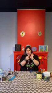 Atelier adulte avec Émilie du musée du Touquet pop sa porte