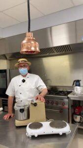 Cours de cuisine avec le chef Philippe!