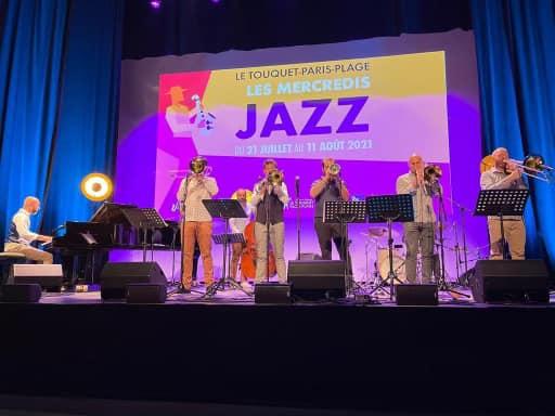 Mercredis Jazz  Swing Bones & Nicolas Gardel ont ouvert le festival hier au