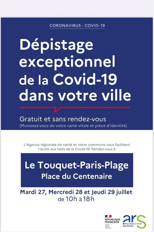 Opération « Médiateurs Lutte Anti Covid » du 27 au 29 juillet dans la station.
